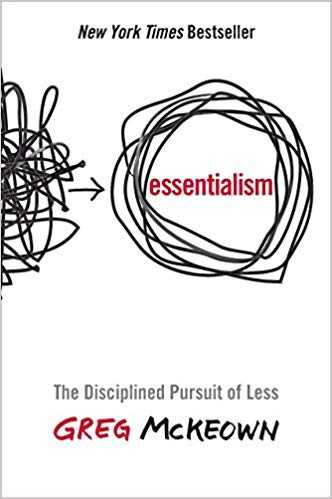 essentialism by greg mckeown 0