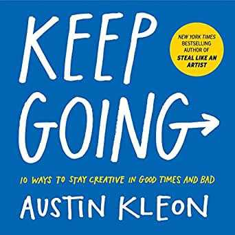 keep going by austin kleon 0