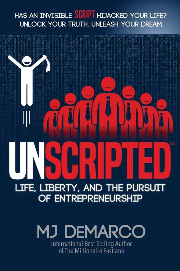 unscripted by mj demarco 0