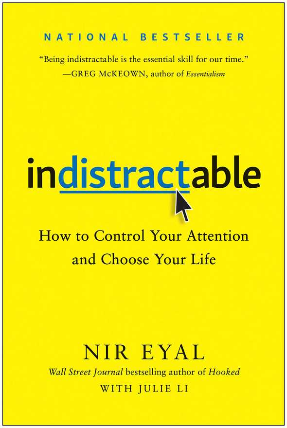 indistractable by nir eyal 0