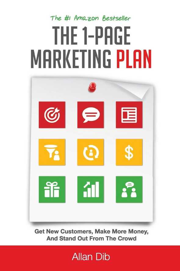the 1 page marketing plan by allan dib 0