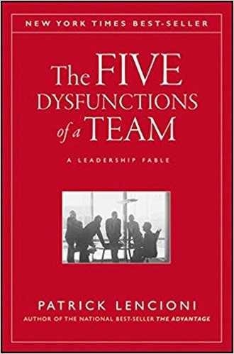 the five dysfunctions of a team by patrick lencioni 0